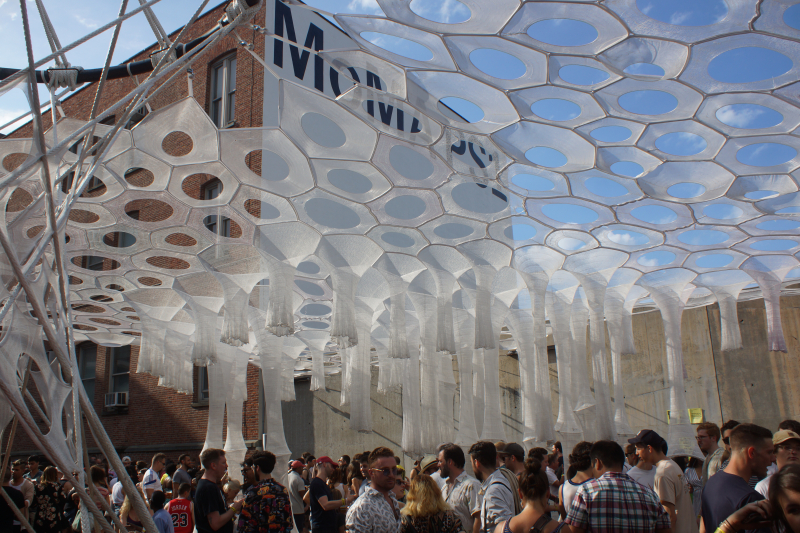 Warm Up - MoMA PS1 - Feast of Music Jul 15  2017  5-30 PM