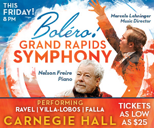 Carnegie Bolero This Friday  300x250