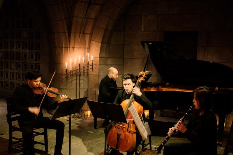 Crypt Sessions - Quartet for the End of Time photo  credit Andrew Ousley 06