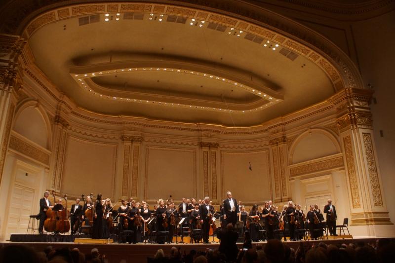 Orchestre Revolutionnaire et Romantique, Carnegie Hall