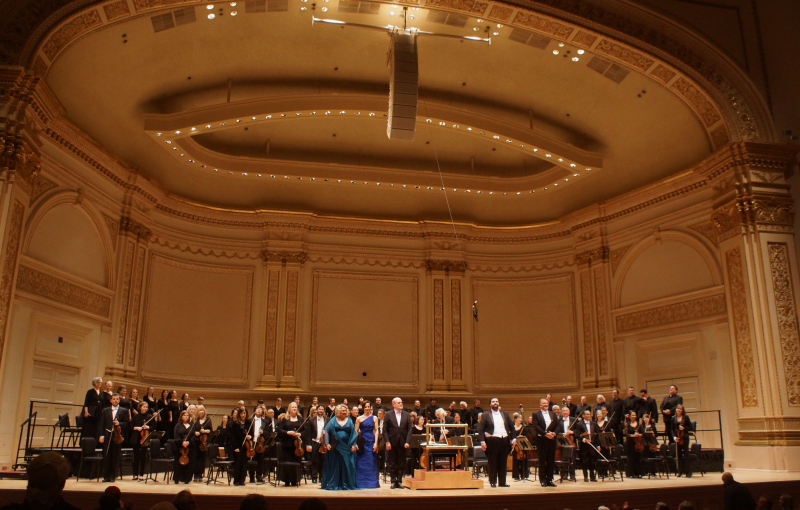Orchestra of St. Luke's, Carnegie Hall