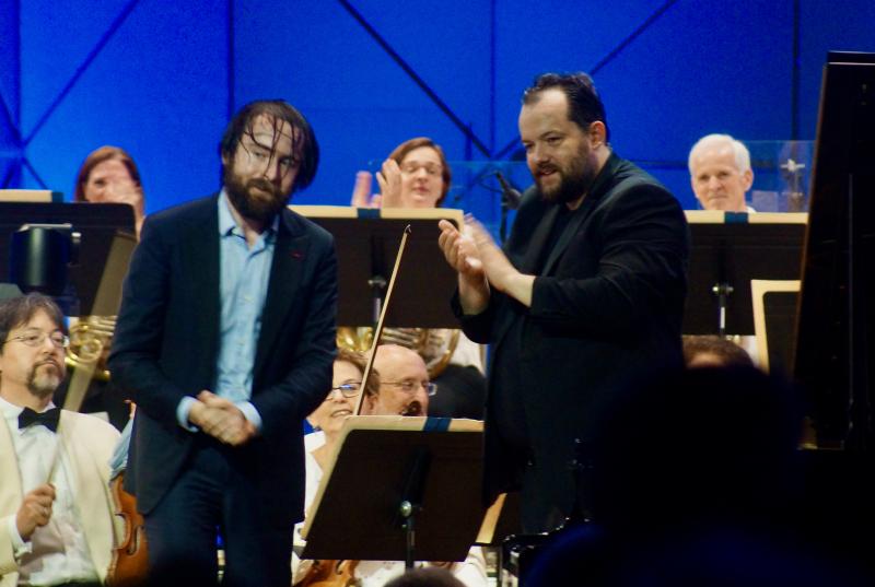 Boston Symphony Orchestra, Daniil Trifonov, Andris Nelsons, Tanglewood, 7/17/21