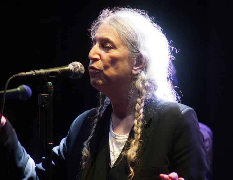 Patti Smith at SummerStage 9.19.21